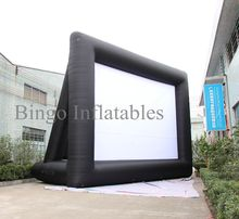 9x6m giant inflatable movie screen,Movie Theater Screen, inflatable projection movie screen,inflatable film screen(China)