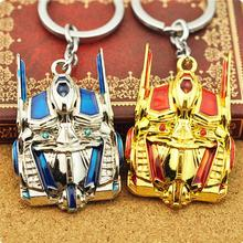 10pcs/bag Movie Metrl Alloy Transformation Bumblebee Long Key Chains Necklace Zinc Alloy Silver/Yellow Jewelry