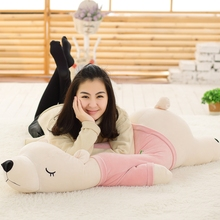 35cm Polar Bear Plush Toy Stuffed Animal White Bear Plush Foam Partical Doll for Kids & Girls Soft Toys with Bamboo charcoal