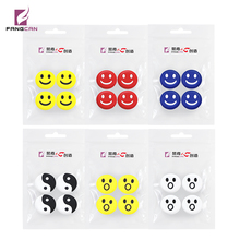 4pcs/pack FANGCAN 100% Silicone Viberation Dampeners for Squash racket 6colors available