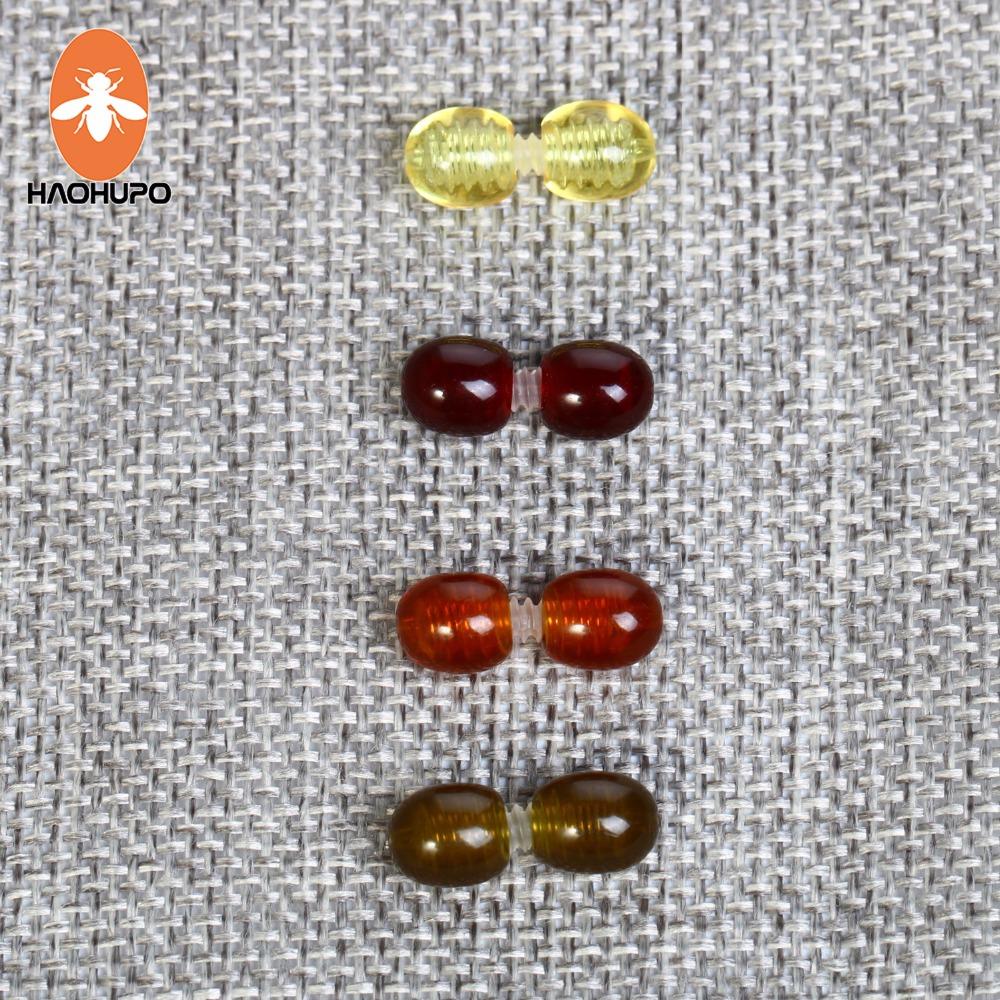 RUBYCA cierres de bloqueo con tap/ón de goma para pulseras de abalorios joyas ajuste europeo Broches