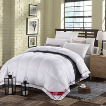 Soft Warm Pink White Twin Queen King Size Natural 90% DUCK DOWN COMFORTER 500FP Quilt For Hypo Allergenic Bedroom Four Seasons