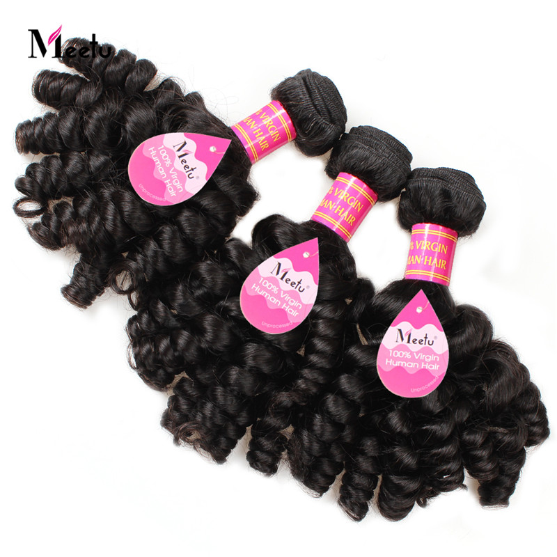 Aunty Funmi Hair Peruvian Virgin Bouncy Hair Top Sale Virgin Human Hair Weave Bundles 10A Natural Color Peruvian Hair Weaves<br><br>Aliexpress