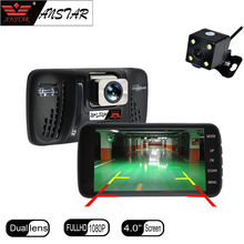 ANSTAR Car dvr Dashcam Full HD 1920x1080 Car Camera Recorder Dual Lens Vehicle Camera DVR Night Vision Dash Cam Registrator