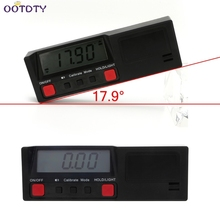 Electronic Digital LCD 360 Degree Inclinometer Angle gauge Protractor level Box Meter with Magnetic Base Automatic Power-of-2F