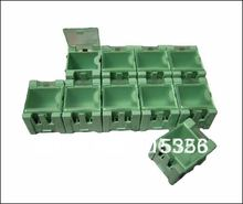 20pcs/lot Electronic Case Kit SMT Components Storage Boxes Containers(China)