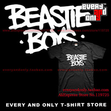 Beastie Boys Rap group Band Logo T-shirt Tee T Post-punk(China)