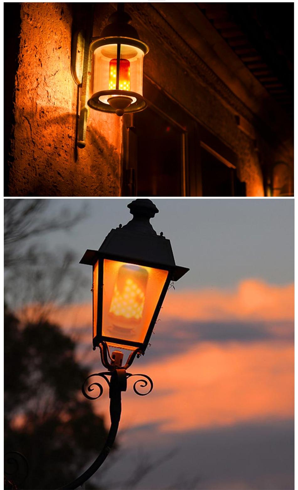 LED Flame Lamp Solar Waterproof Lawn Light Dancing Flickering Torch Lights Garden Outdoor Landscape Decorative Path Lighting (23)