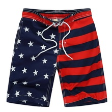 New 2017 Beach Shorts For Boys Surf Board Short Custom Swim Trunks Pentagram Kids Sport stripe 7 -14 Yrs Summer Short Garco