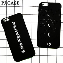 New Japanese Letter Moon Stars Ultra Thin Matte Hard Plastic Cover Coque Funda for iPhone 5S SE 6 6s plus 7 Plus Case Capa Skin
