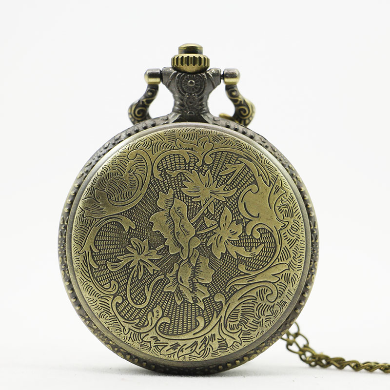 2017-New-Arrival-Vintage-bronze-Moon-Wolf-Pocket-Watch-Necklace-Pendant-Gifts-Clock (3)