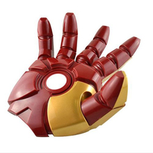 The Avengers Iron Man hand Model 3D FX Deco LED Room Light Model Toys(China)