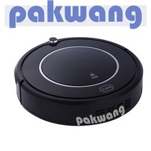 PAKWANG X550 Robot Vacuum Cleaner for Home, Black