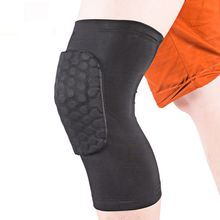 Brand Honeycomb Basketball Guard Knee Warm Outdoors Knee Set of Anti-collision Protective Gear With Sporting Goods F602