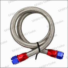 AN10-0A 1 meter Oil Fitting and Stainless Steel Braided Hose End Adapter Kit(oil pipe)