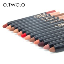 O.TWO.O 12 Colors Lipstick Pen High Quality Long-lasting Colorful Fashionable Lipstick Pen Promotional  Lip Liner