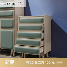 [InYard] modern cabinet/northern Europe, multi-functional collection cabinet, bedside, cabinet bookcase, designer furniture(China)