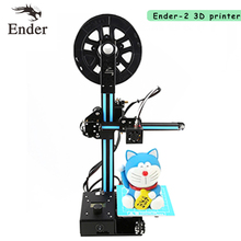 2017 High Precision Ender-2 3D printer DIY Kit full Metal Frame Mini 3D printer A8 A6 with Filament 8G SD card Hotbed as a gift