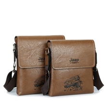 In 2017 famous brands JEEP men messenger bags PU leather men Bag briefcase designer high quality shoulder bags for man L49