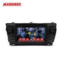 "MARUBOX M7071,Car Multimedia Player For Toyota Corolla 2013+,Android 4.2.2 Dual Core, 800*480 HD, 7"",DVD,Radio,GPS, Stereo Audio"