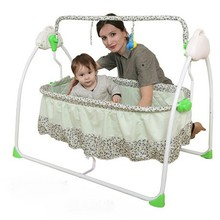 Electric Metal Baby Cribs baby Bedding Mother & Kids baby cradle with music 103*72*91 CM hot whole sale rocking 2017 good price(China)