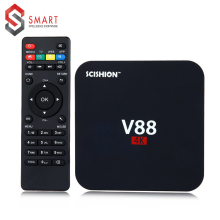 SCISHION V88 4K Android 6.1 Smart TV Box Rockchip 1G RAM 8G ROM Quad Core 4 USB WiFi Full Loaded 1.5GHZ HD Media Player(China)