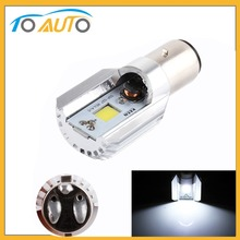 H6 Led Motorcycle Headlight Bulbs COB Led 12-36V 1000LM BA20D Lamp Scooter ATV Moto Accessories Fog Lights For Suzuki