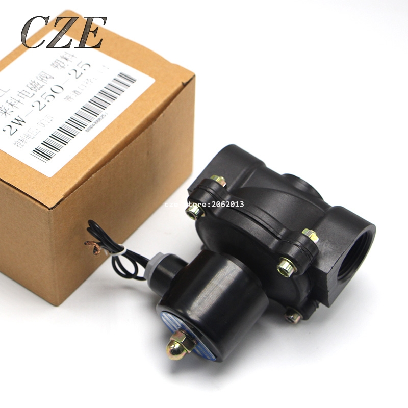 2W-250-25 1  1 inch AC220V DC24V DC12V Solenoid Valves Normal Close.<br><br>Aliexpress