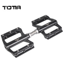 brand Aluminum alloy Bike Pedals For MTB Non-slip Parts Riding Equipment CNC Bearing Flat Platform Cycling Bicycle Pedal