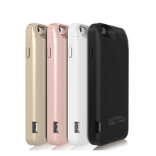 5800mAh portable Rechargeable Backup External Battery Pack Charger case Power Bank stand holder for iphone 6 6S 4.7 inch