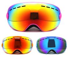SOARED Winter Outdoor Sport Snowboard Protective Glasses Children Kids Snow Ski Goggles Polarized Anti-Fog Skate Skiing Eyewear(China)