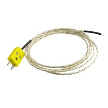 MYLB-2M Cable K Type Thermocouple Temperature Measuring Probe Sensor White