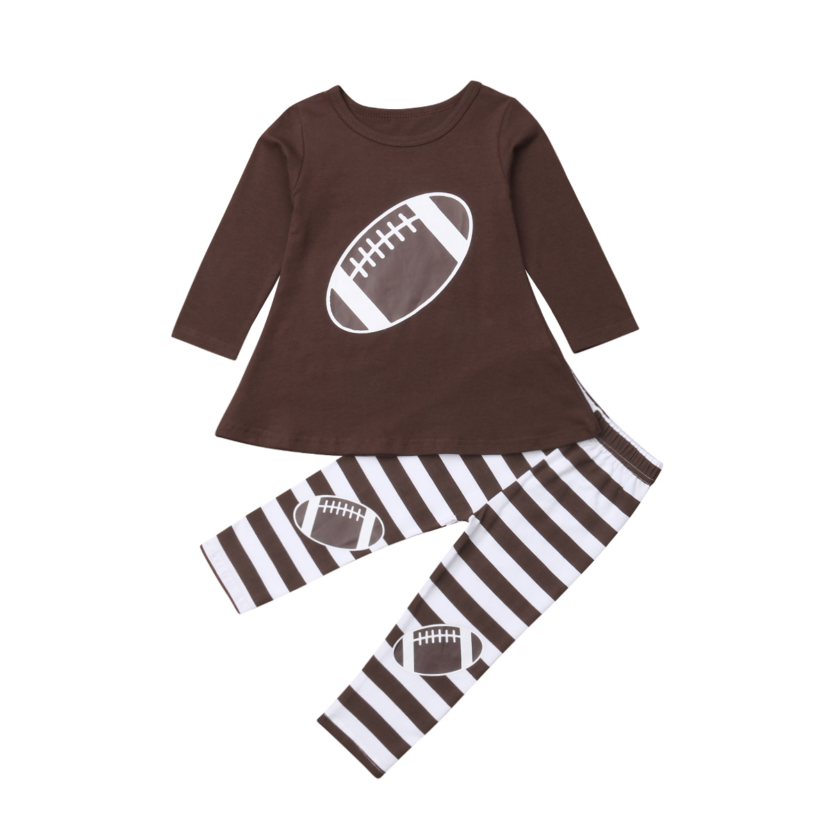 Love is Volleyball Childrens Girls Short Sleeve Ruffles Shirt T-Shirt for 2-6 Toddlers