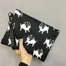 2017 Women Day Clutches Bags Animal Dogs Printing Handbags Envelope Evening Party Bags Femail Handbags Bolsas Feminina H888