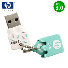 HP usb flash drive usb 3.0 pendrive ice cream flash drive 16gb 32gb 64gb memory stick cle usb with otg type-c For mobile phones(China)