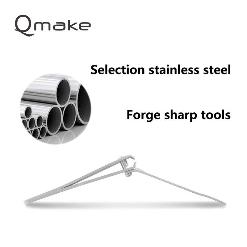 Qmake 11 PCS set of Nail Manicure Tools Nails toe Clipper Scissors