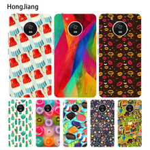 HongJiang The blossom buds case cover for For Motorola Moto G6 G5 G4 PLAY PLUS ZUK Z2 BQ M5.0(China)