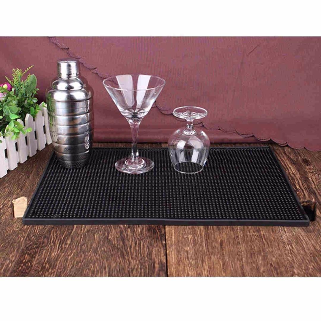 Rubber Service Bar Mat Beer Whiskey Heavy Duty Bar and Rubber Spill Mats Home