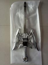 Angel Sword Top Quality Factory Custom Hand Made Angel Sword Guitar Free Shipping(China)