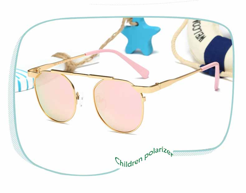 2017 New Cat Eye Luxury Boys Girls Kids Sunglasses Brand Designer Twin-Beams Children Sun Glasses Oculos De Sol Gafas<br>