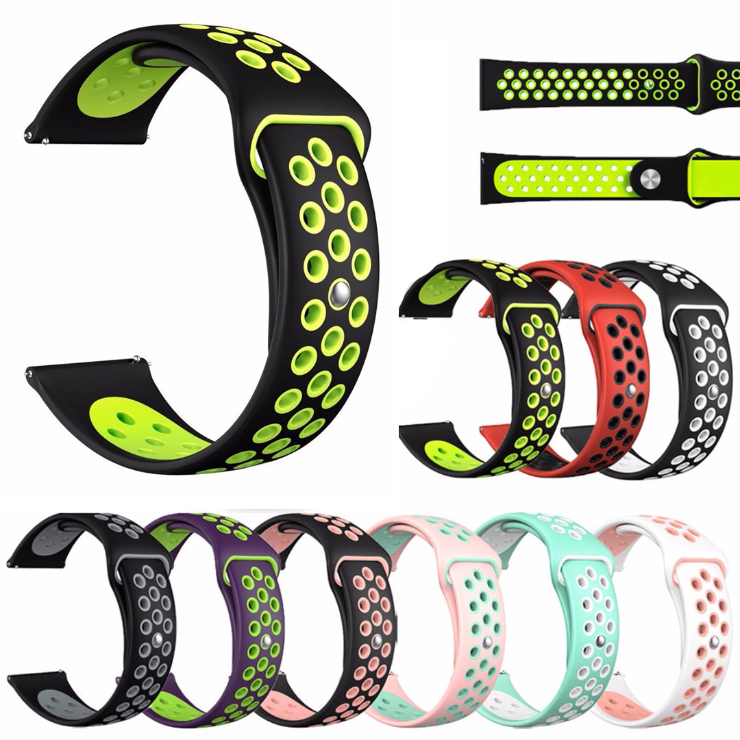 1Pcs Multicolor Soft Silicone Replacement Wristband Band Strap For Fitbit Versa Wrist Band Sports Accessories
