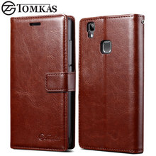 Cover Case For Doogee X5 Max Flip PU Leather Wallet Case For Doogee X5 Max Pro With Card Holder Stand Design Coque TOMKAS