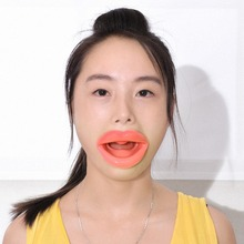 Silicone Rubber Face Slimmer Massage Muscle Tightener Anti-Aging Anti-Wrinkle Mouth 2J5I