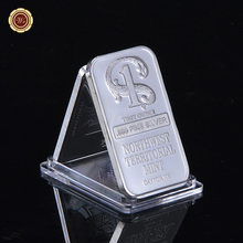 1 Troy Ounce .999 Fine Pure Silver Bar Ingot In Plastic Case  for Wholesales