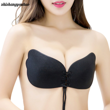 Women Bra Invisible Strapless Bra Push Up Silicone Women's Bras Intimates bras Hot sale XLS