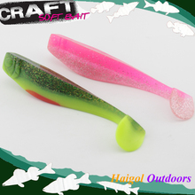 Big shad lure with 6 MIX colors bundles package--15 cm soft bait soft fishing lure(China)