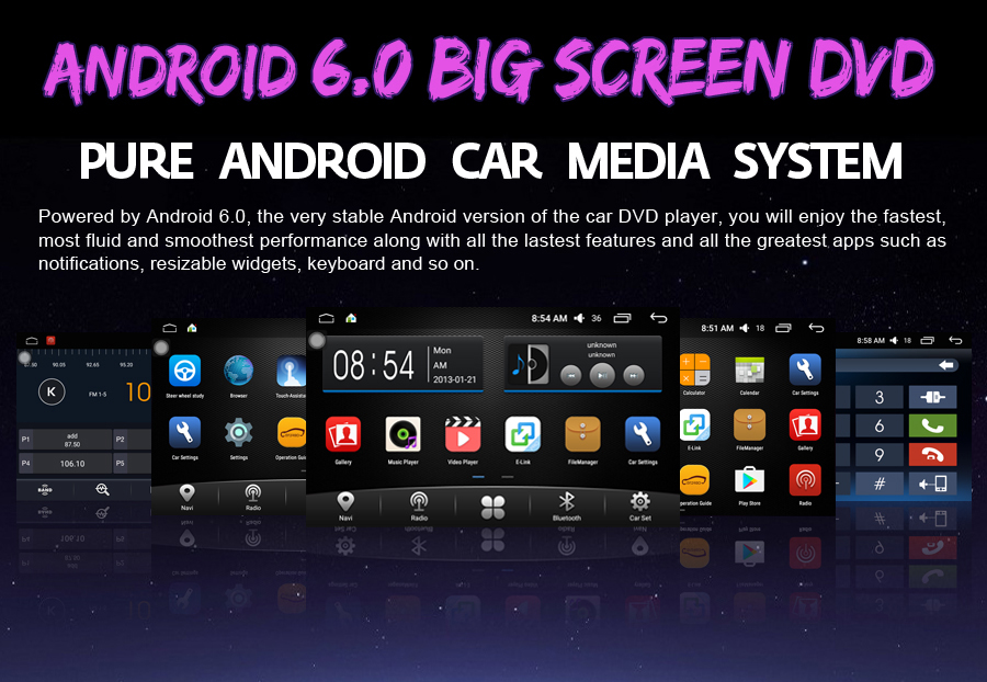 OTOJETA 9 inch Quad Core Android 6.0 Car multimedia player dvd recorder for 2010-2015 VW Tiguan gps navigation radio stereo