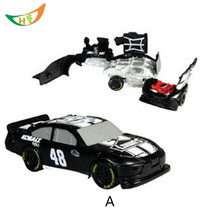 NASCAR BASHERS Competition 1:64 Alloy car model Catapult explosion burst car collision car accident oyuncak boys Christmas gift