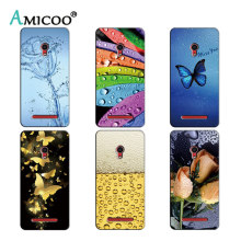 Soft Silicone Case for Asus Zenfone Go ZC451TG Z00SD 4.5 inch Mobile Phone Cover Luxury TPU Back Cases Fundas Capa Para Coque(China)
