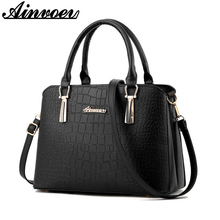 Ainvoev 2017  New Luxury Handbags Women Bags Designer Shoulder Messager Bags For Female Women Leather Bag A1451